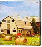 Charlotte Vermont Gem Acrylic Print by Deborah Benoit