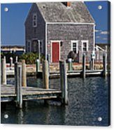 Charming Edgartown Harbor  Acrylic Print by Juergen Roth