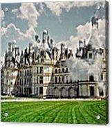 Chateau De Chenonceau Acrylic Print by Diana Angstadt