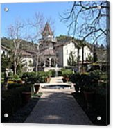 Chateau St. Jean Winery 5d22206 Acrylic Print by Wingsdomain Art and Photography