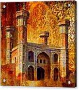 Chauburji Gate Acrylic Print by Catf