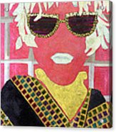 Cheap Sunglasses Acrylic Print by Diane Fine