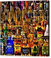 Cheers - Alcohol Galore Acrylic Print by David Patterson