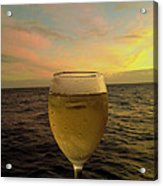 Cheers Acrylic Print by Cheryl Young
