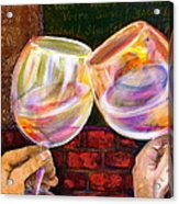 Cheers Acrylic Print by Debi Starr
