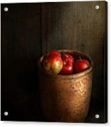 Chef - Fruit - Apples Acrylic Print by Mike Savad