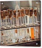 Chemist - Specimen Acrylic Print by Mike Savad