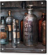 Chemist - Things That Burn Acrylic Print by Mike Savad