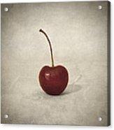 Cherry Acrylic Print by Taylan Soyturk