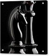 Chess IIi Acrylic Print by Tom Mc Nemar