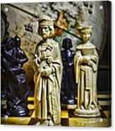 Chess - The Sacrifice Acrylic Print by Paul Ward