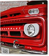Chevy Beaumont Fire Museum Tx Acrylic Print by Christine Till