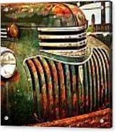 Chevy Truck Acrylic Print by Marty Koch