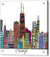 Chicago City  Acrylic Print by Bri B
