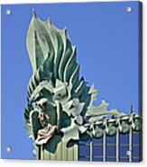 Chicago - Harold Washington Library Acrylic Print by Christine Till