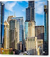 Chicago High Resolution Picture Acrylic Print by Paul Velgos