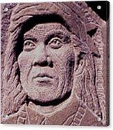 Chief-cochise-2 Acrylic Print by Gordon Punt