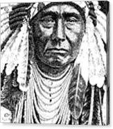Chief-joseph Acrylic Print by Gordon Punt