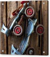Childhood Skates Acrylic Print by Garry Gay