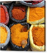 Chilli Powders 3 Acrylic Print by James Brunker
