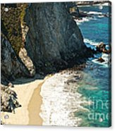China Cove At Point Lobos State Beach Acrylic Print by Artist and Photographer Laura Wrede
