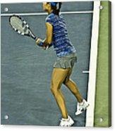 China Tennis Star Li Na Acrylic Print by Rexford L Powell