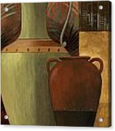 Chines Urn 2 Acrylic Print by Pablo Esteban