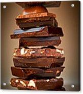 Chocolate Acrylic Print by Elena Elisseeva