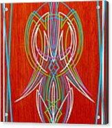Chris Craft Options Acrylic Print by Alan Johnson