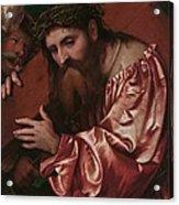 Christ Carrying The Cross Acrylic Print by Girolamo Romanino