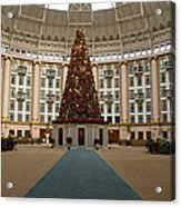 Christmas At West Baden Acrylic Print by Sandy Keeton