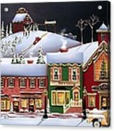 Christmas In Holly Ridge Acrylic Print by Catherine Holman