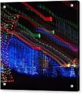 Christmas Lights Acrylic Print by Dan Sproul