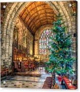 Christmas Tree Acrylic Print by Adrian Evans