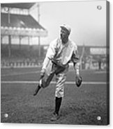 Christy Mathewson Pitching Acrylic Print by Retro Images Archive