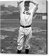 Christy Mathewson Wind Up Acrylic Print by Retro Images Archive