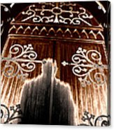 Church Aura Acrylic Print by John Monteath