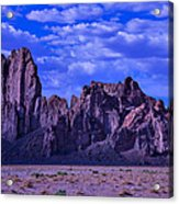 Church Rock Acrylic Print by Garry Gay