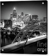 Cincinnati A New Perspective Acrylic Print by Kimberly Nickoson