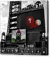 Citizens Bank Park Philadelphia Acrylic Print by Bill Cannon