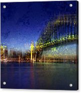 City-art Sydney Acrylic Print by Melanie Viola