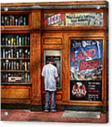City - Baltimore Md - Explore The Land Of Beer  Acrylic Print by Mike Savad