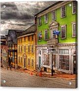 City - Providence Ri - Thomas Street Acrylic Print by Mike Savad