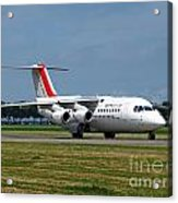 Cityjet British Aerospace Avro Rj85 Acrylic Print by Paul Fearn
