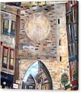 Cityscape European Acrylic Print by Rick Todaro