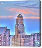 Cityscape Acrylic Print by Kathleen Struckle