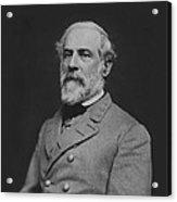 Civil War General Robert E Lee Acrylic Print by War Is Hell Store