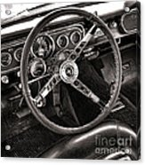 Classic Mustang Acrylic Print by Olivier Le Queinec