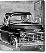 Classic Ride Acrylic Print by Betty LaRue
