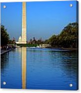 Classic Washington Acrylic Print by Olivier Le Queinec